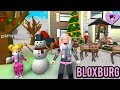 Bloxburg Family Winter Morning Routine with Titi & Baby Goldie