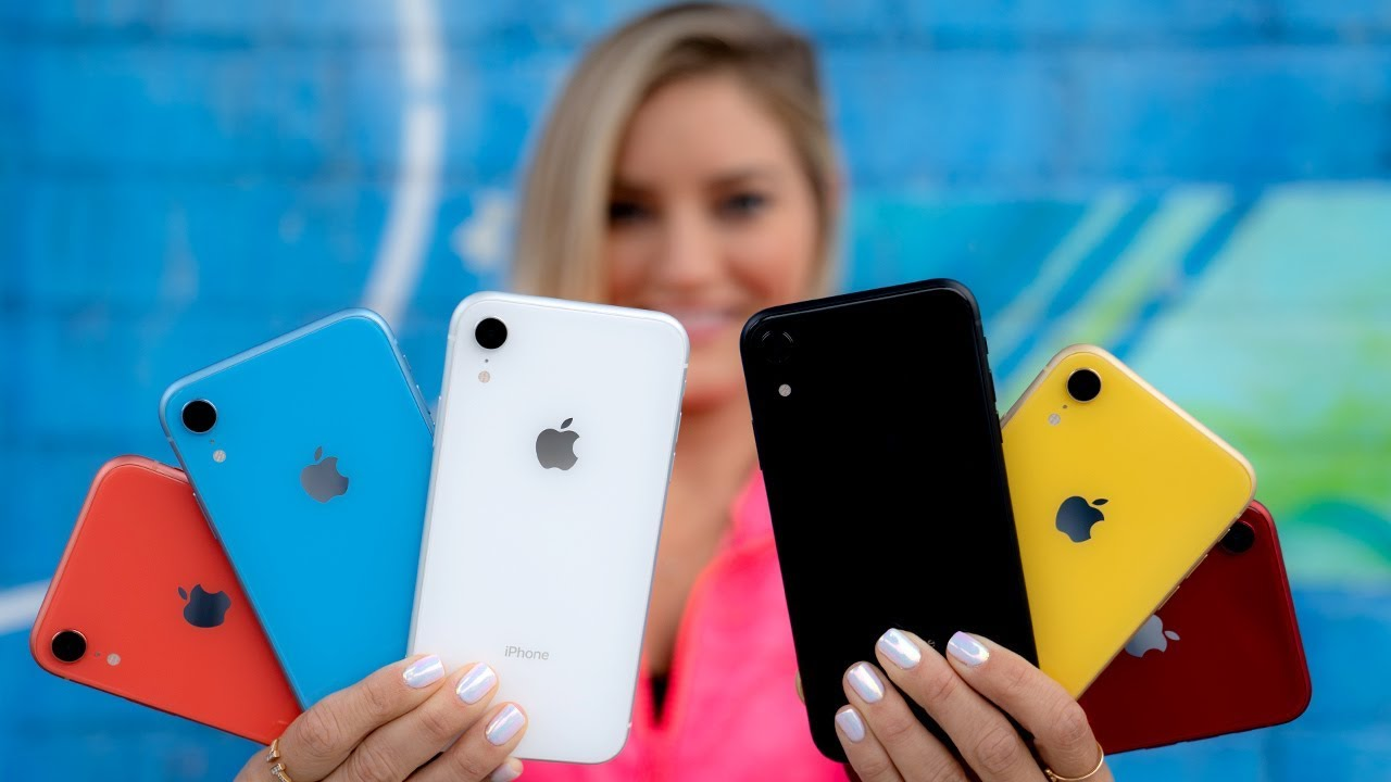 🔥 All iPhone XR Colors!
