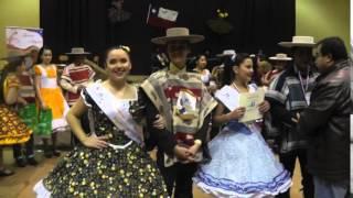 PARAEJA DE NUEVA IMPERIAL CAMPEONES REGIONALES DE CUECA