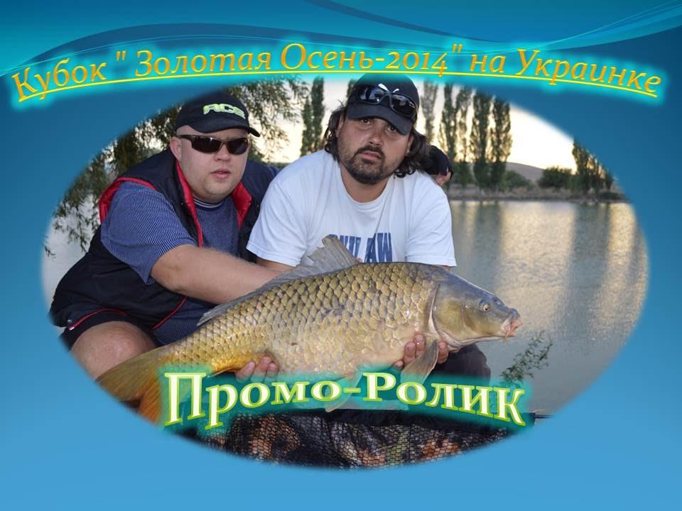 рыбалка золотой карп видео