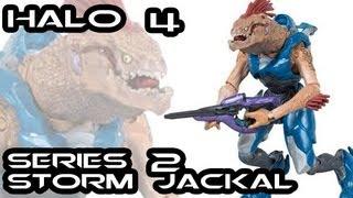 McFarlane Halo 4 Series 2 STORM JACKAL Figure Review