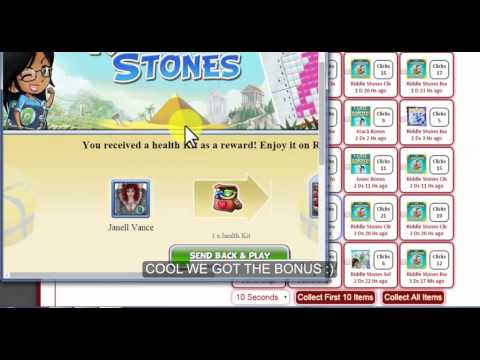 Collect Riddle Stones Bonuses Shared By Other Players : Gameskip.Com