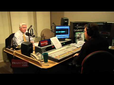 Governor Tom Corbett on recent appointments and the current legislative session
