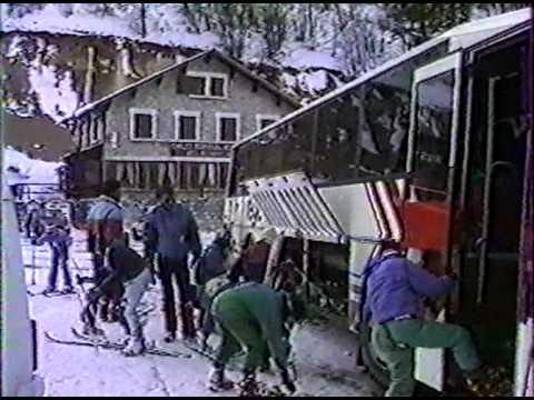 La Chapelle en Vercors - Classe de neige (Hiver 1989)