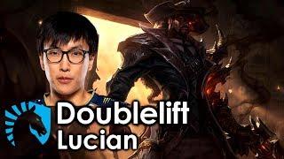 Doublelift picks Lucian