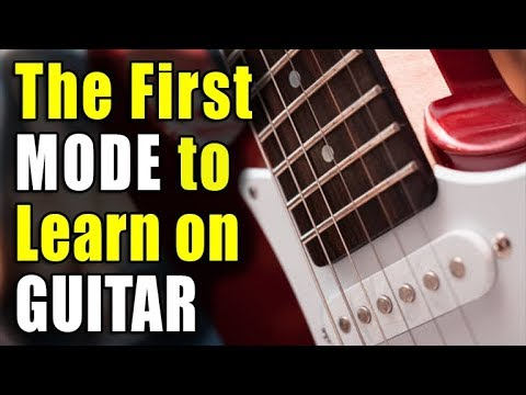 The FIRST Mode To Learn on Guitar (MIXOLYDIAN)