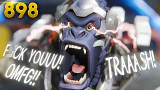 XQC IS BACK & HE'S RANK #1 LOSING! | Overwatch Daily Moments Ep. 898  (Funny and Random Moments)