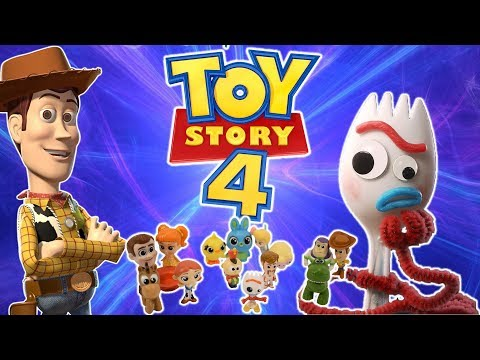 toy-story-4-toys-unboxing-and-review-|-set-of-minis-plus-extra-4-toys!