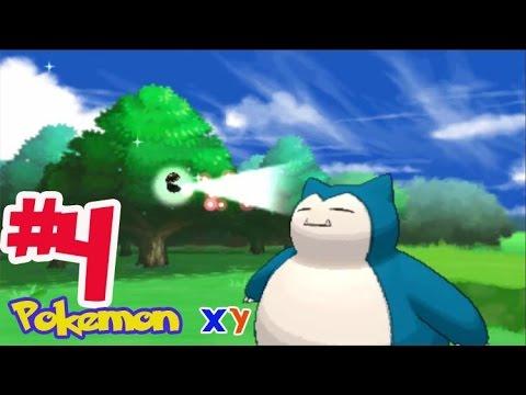 Let's Play Pokemon XY #4 หาขลุ่ยโปเกม่อนและทริมเมี่ยน! การจับคาบิก้อน!!