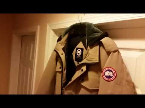 Canada Goose Mens Burnett Parka - Full Jacket Review