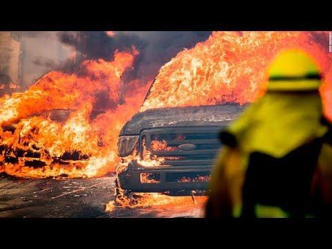 Les feux de Californie et de Grèce...coup monté? HD
