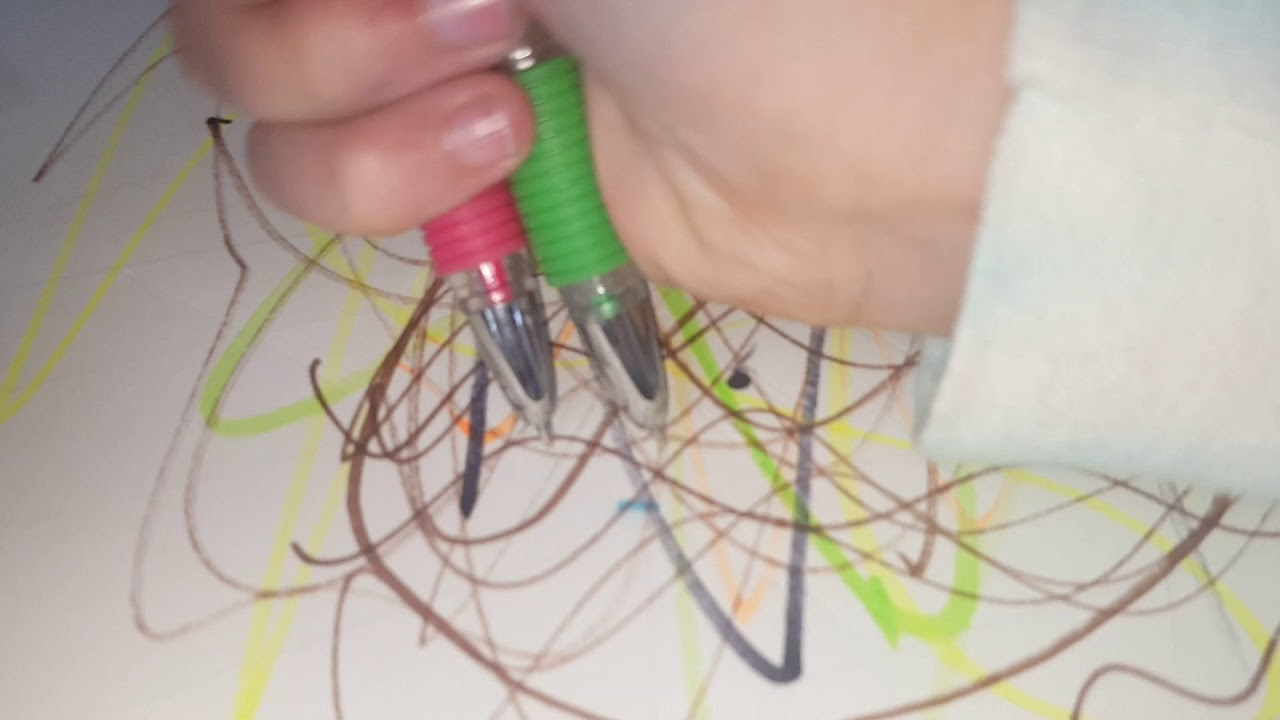 How To Make Abstract Art With Alayna Youtube It39s Made Electrical Wires Its Uninterrupted