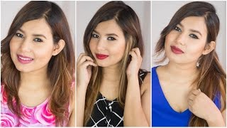 3 Quick & Easy Valentines Day Makeup Looks | Sonal Sagaraya