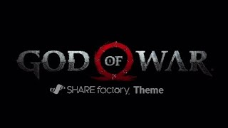 God of War SHAREfactory Theme
