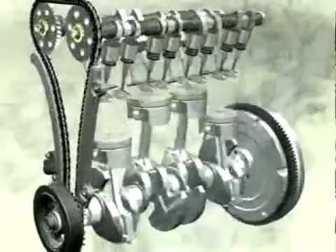 Принцип работа двигателя