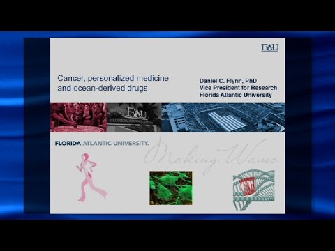 Daniel FLYNN 10/21/15 Cancer, Personalized Medicine, and Ocean-derived Drugs