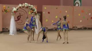 Групповые упражнения БП Художественная гимнастика Чемпионат Черниговской области
