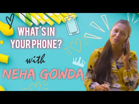 What's in Your Phone? | Neha Gowda | Episode 9 | RR Productions thumbnail