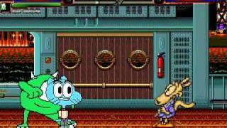 TheMattalocalypse Random Mugen Battle - 783 - Gumball/Mike Wazowski VS. Mr. Krabs/Gir/Rocko/Darkwing
