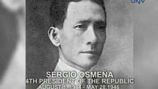 Ang Pangulo Ko: Sergio Osmeña