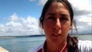 Jóvenes Olímpicos recibieon apoyo de atletas peruanos que compiten fuera del país
