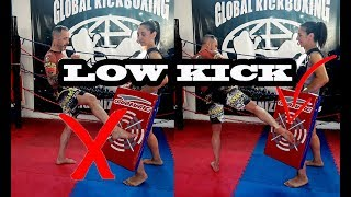 ENTRENA UNA PATADA DEMOLEDORA, LOW KICK!!