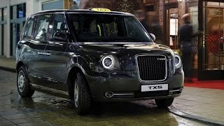 2017 New London Taxi: TX5 black cab revealed