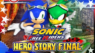 Sonic Free Riders - Hero Story Part 2 - FINAL w/Bodycam