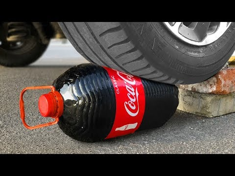 Experiment Car vs Coca Cola | Crushing Crunchy & Soft Things by Car from YouTube · Duration:  10 minutes 15 seconds