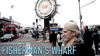 Delicious Clam Chowder Fisherman's Wharf - San Francisco | World Travel Vlog