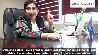 Pesan Irma Suryani Chaniago, Kartini Parlemen dari Partai NasDem untuk Pemuda Indonesia