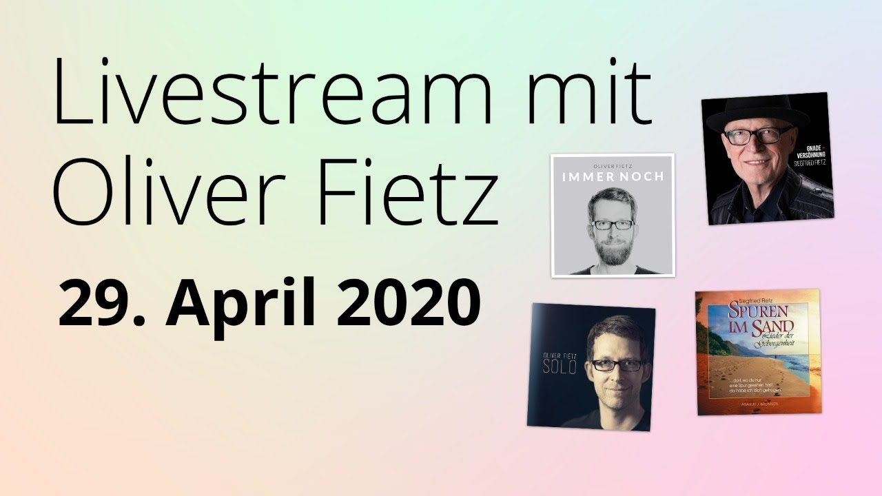 Online-Konzert am 29.04.2020