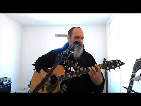 "Steemit Open Mic Week 75 - Acoustic Remake of King Diamond's ""Welcome Home"""