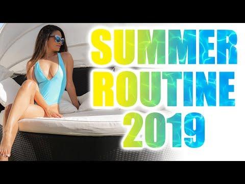 SUMMER ROUTINE 2019 👙BIKINI BODY, HAARPFLEGE, HAUTPFLEGE, FITNESS ROUTINE IM SOMMER | KINDOFROSY thumbnail