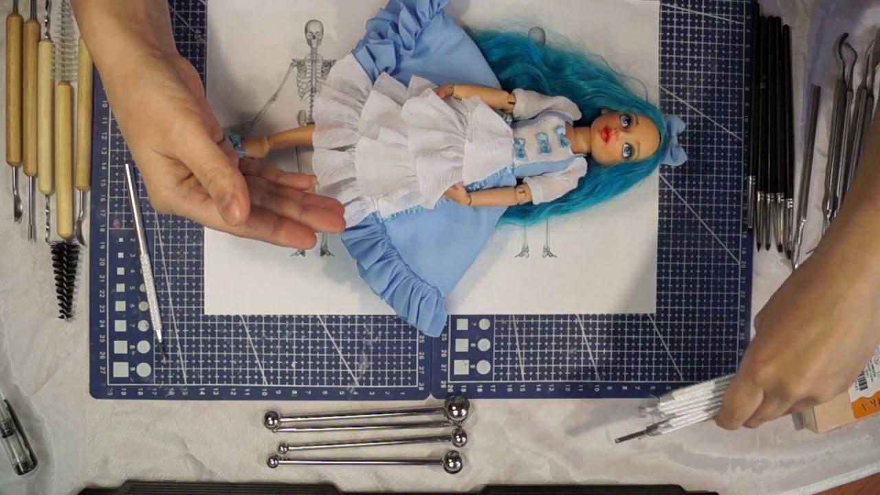 Своими руками лепить куклу