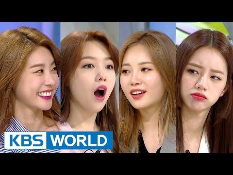 Hello Counselor - Sojin, Mina, Yura, Hyeri [ENG/THAI/2017.04.03]