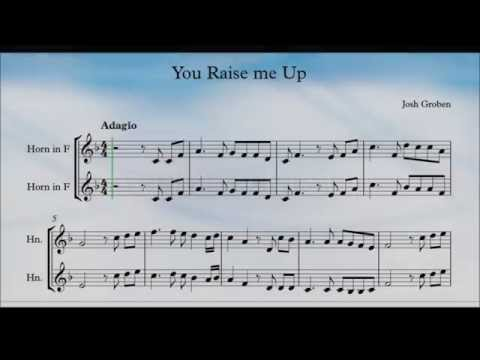 You Raise Me Up Horn