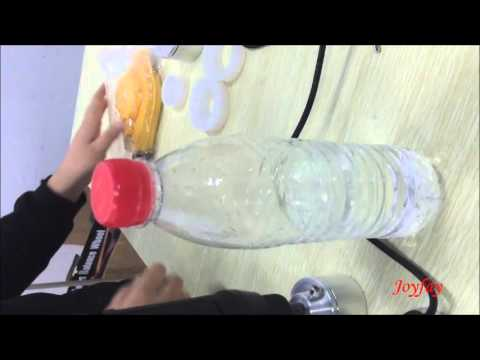 Setting up the Handheld  Bottle Capping Machine