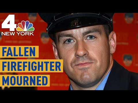 Fallen FDNY Firefighter's Funeral Draws Thousands of Mourners
