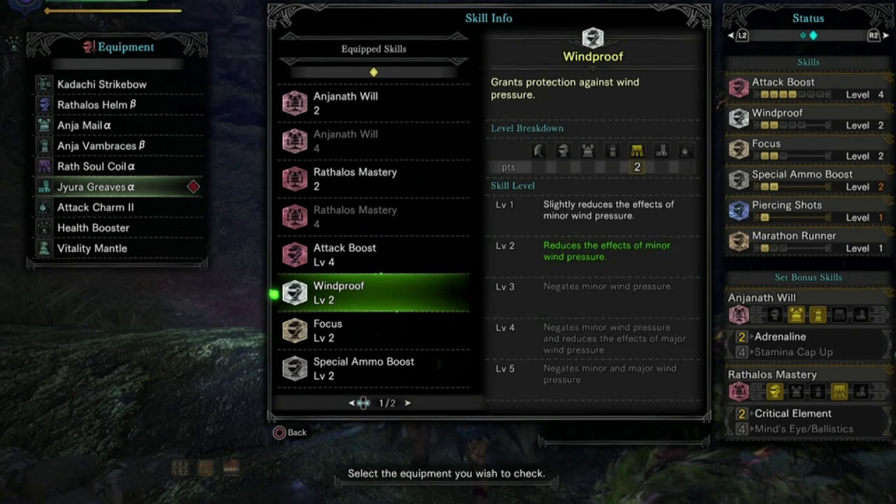Mhw Early High Rank Bow Build Youtube
