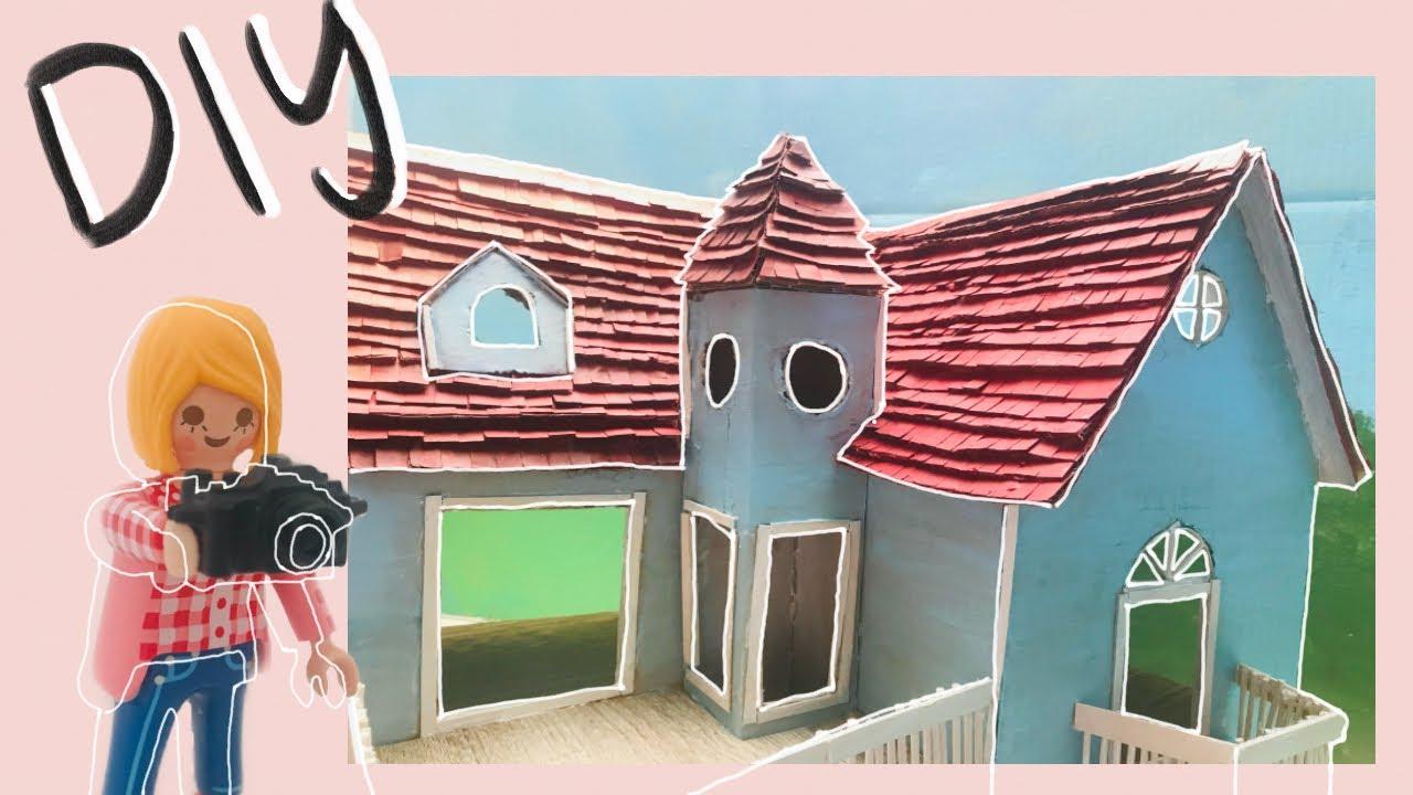 diy playmobil haus bastelnminiatur hausminiature house