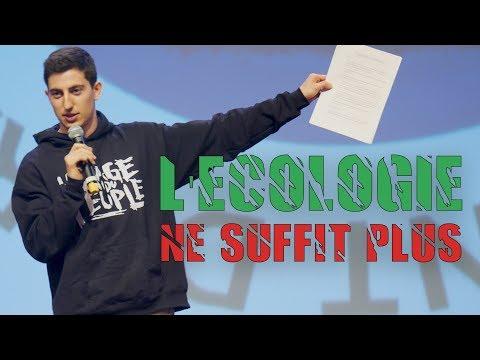 L'ÉCOLOGIE NE SUFFIT PLUS ! - Conférence à Grenoble