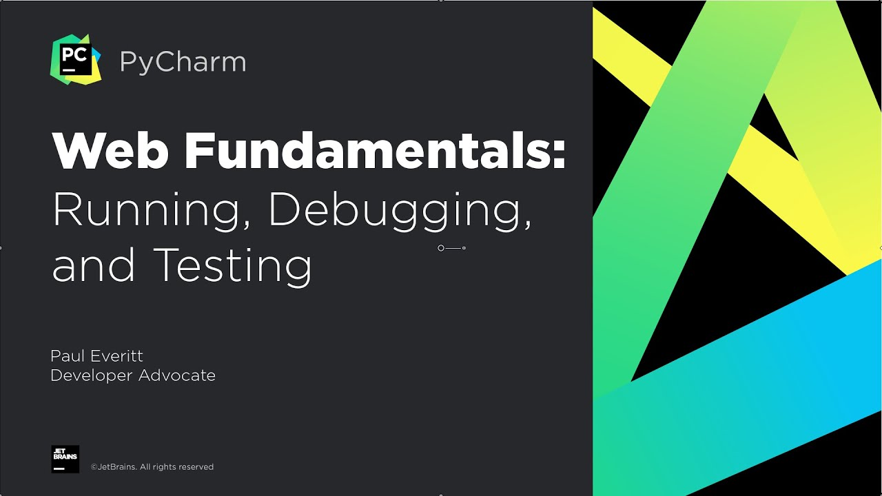 Web Fundamentals in PyCharm - Part 2