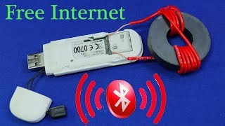 WITH MODEM GET FREE INTERNET DATA MB ANY SIM CARD OR ANDROID PHONE WIFI FOR HOME