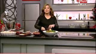 برنامج المطبخ – الشيف آيه حسني – أكلات الكريسماس – حلقة الخميس 25-12-2014 – Al-matbkh