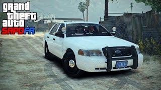 GTA SAPDFR - DOJ 96 - Erratic Pursuit (Law Enforcement)