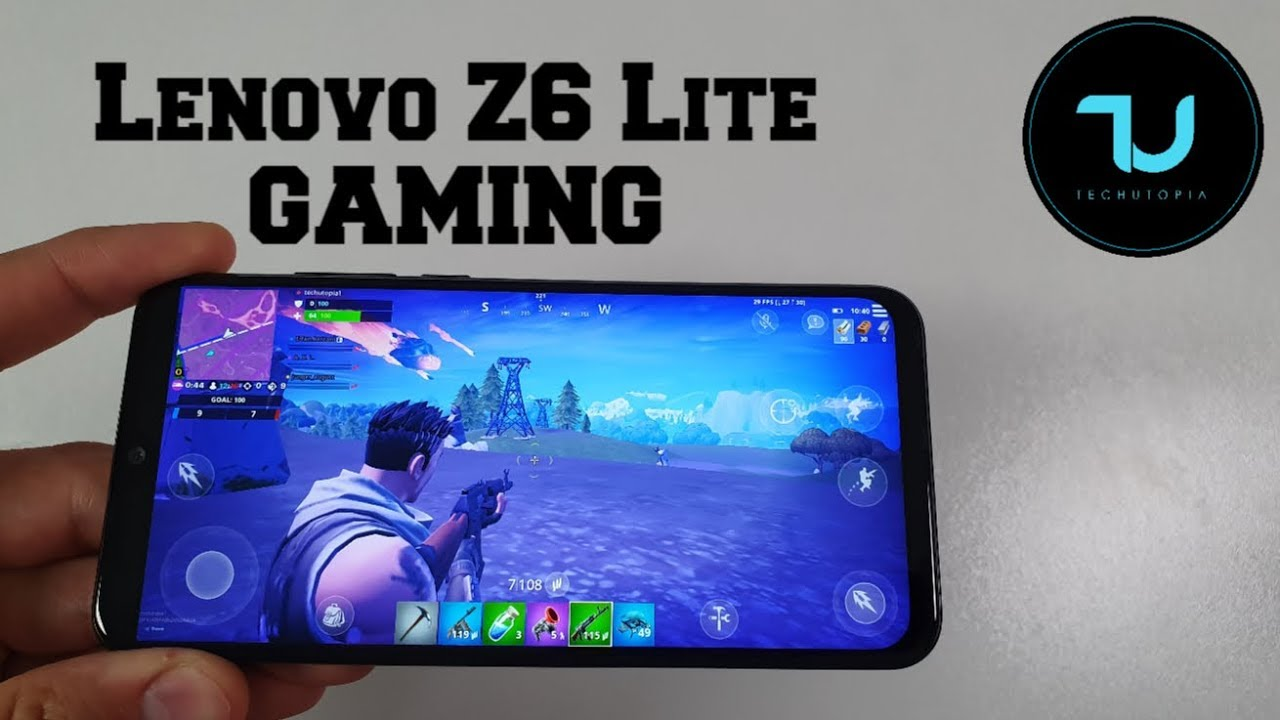 Lenovo Z6 Lite Gaming test/Snapdragon 710 PUBG/Ark/Fortnite gameplay youth edition