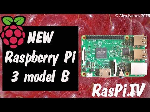Raspberry Pi 3 model B Launch - 64-bit quad-core ARM Cortex A53