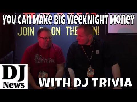 You Can Make Some BIG Week Night Money with DJ Trivia | Disc Jockey