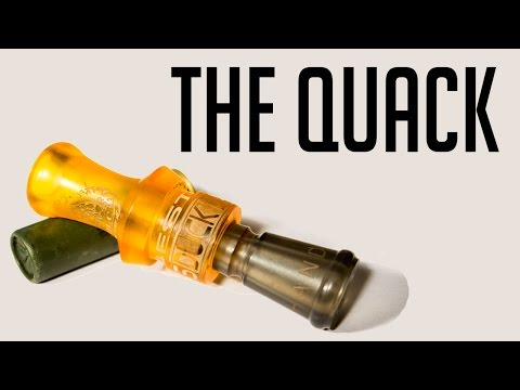 The Quack   How To Blow A Duck Call